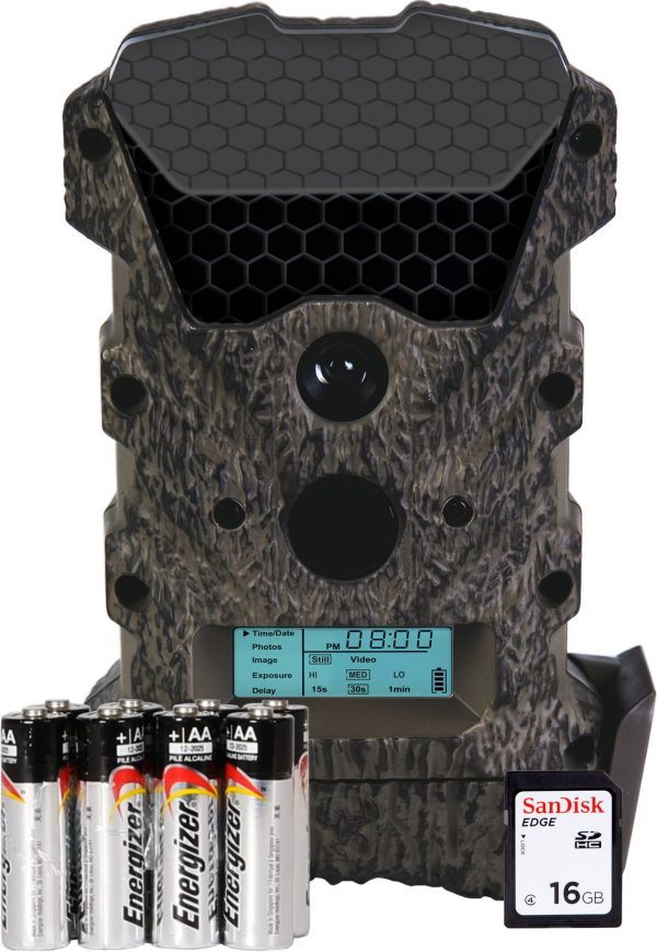 Wildgame Innovations Scrapeline Lightsout Trail Camera Package - 16 MP