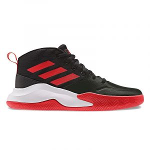 adidas Own The Game Boys' Basketball Shoes, Boy's, Size: 11 Wide, Black